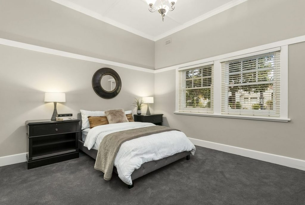Bedroom styled by FSP.