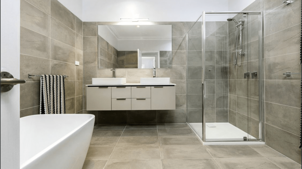 Main Bathroom makeover designed by Fix Sell Pay